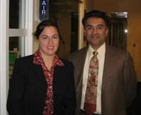 Rebecca with Anirudh Kulkarni
