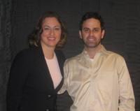 Rebecca with Gabe Klein